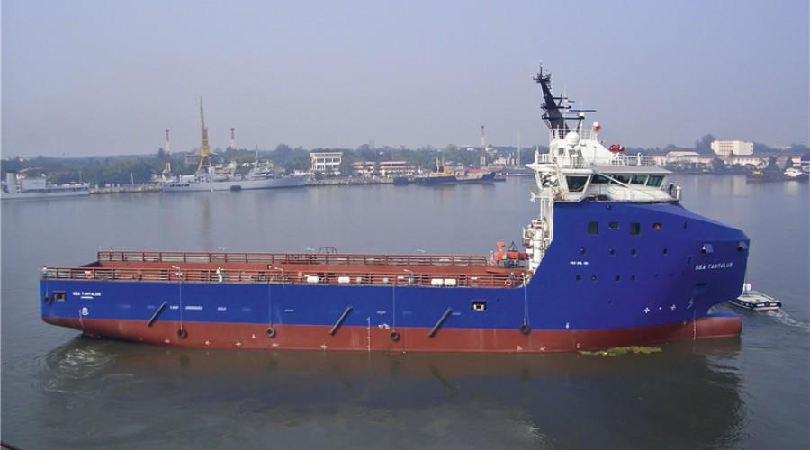 Sea Tantalus er et av syv SolstadFarstad-skip som går inn på kontrakt. Forsyningsfartøyet ble bygd i 2013 hos Cochin Shipyard, India. Arkivfoto: Deep Sea Supply