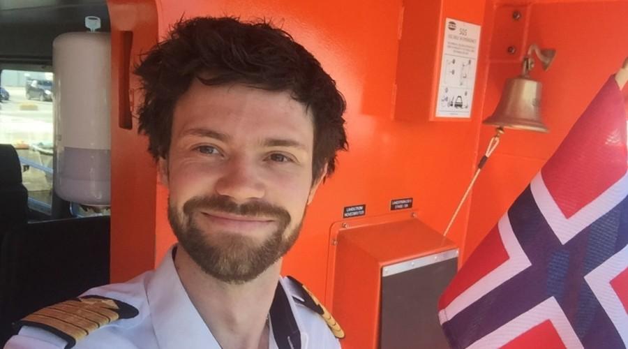 Harald Leite Olsen er skipsfører i Florø Skyssbåt. Foto MaritimKarriere.no