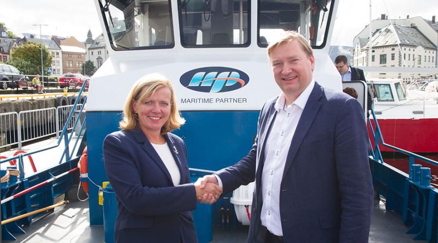 Kirsti Slotsvik og Gisle Anderssen