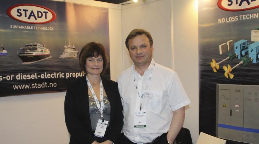 Hallvard Slettevoll og Nora Longum