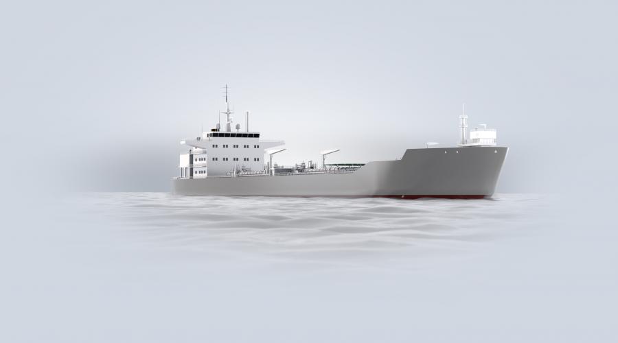 ABBs likestrømsbaserte kraftsystem Onboard DC Grid bidrar til lavere drivstofforbruk og utslipp på de nye skytteltankerne til Statoil. Illustrasjonsbilde: Statoil