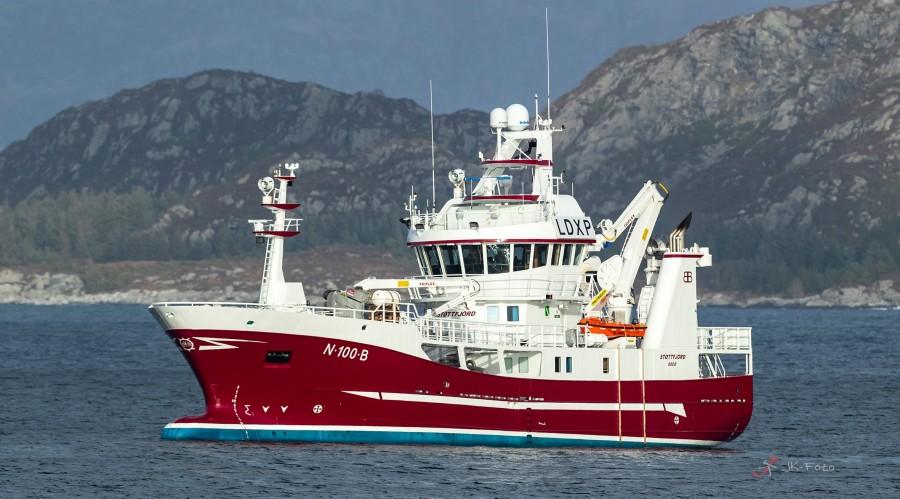Fiskefartøyet Støttfjord blir bygget som hybridskip med Enova-støtte Foto: JK-Foto/Brødrene Bakken.