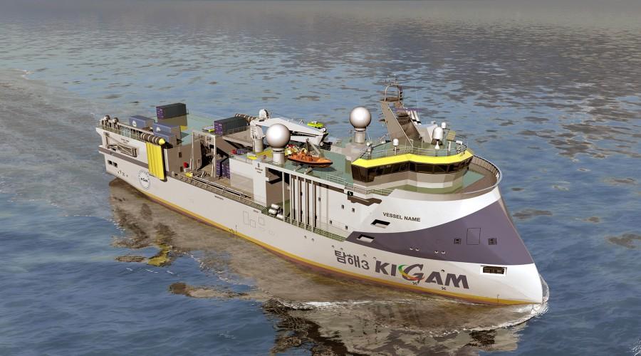 Fartøyet er designa for å inkludere ei rekke installert utstyr. Illustrasjon: Ulstein.