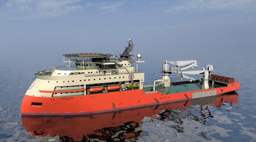 Island Ventures II LLC tingar to store offshore konstruksjonsskip frå Ulstein, eitt av desse for bygging ved Ulstein Verft, eitt for bygging i USA.