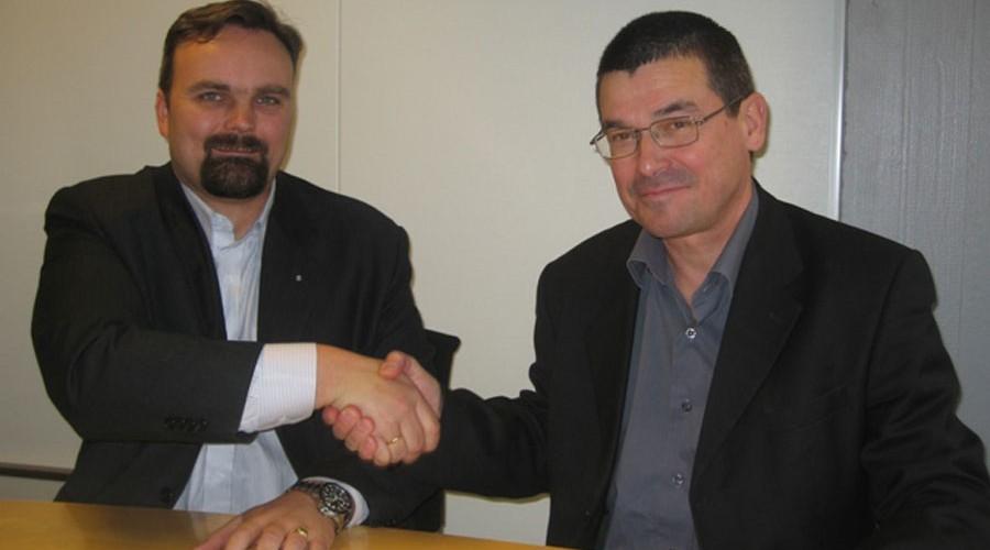 Bjørn Laksforsmo og Jan Paszkowski