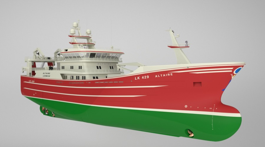 Karstensen to build new pelagic trawler. Ill: Karstensen.