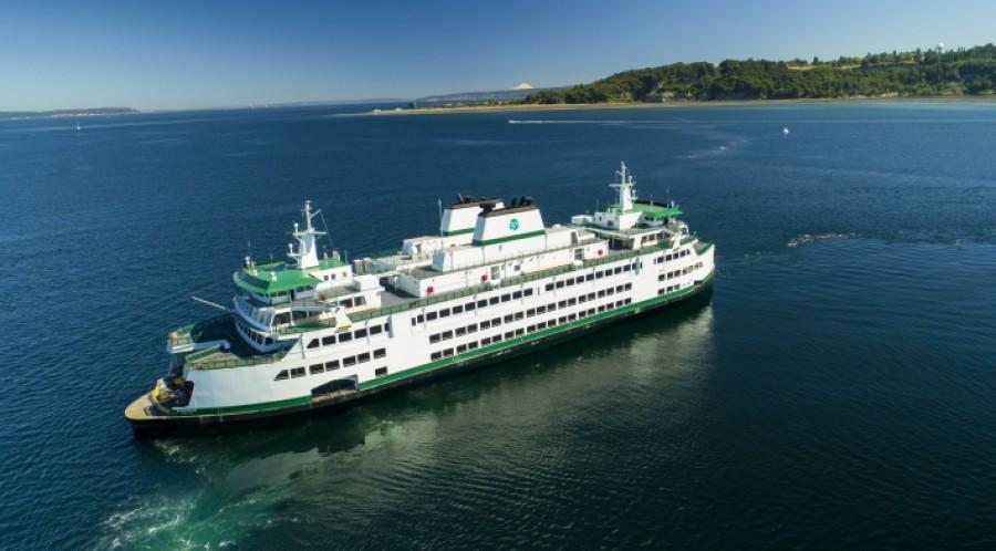 Den første hybridelektriske «Olympic»-klasse-fergen vil kjøre for Washington State Ferries i 2024 Foto: Vigor.
