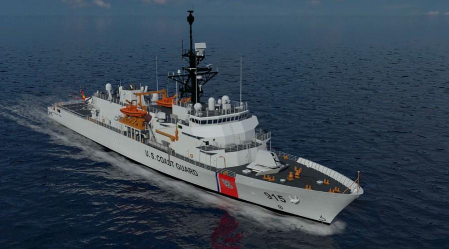 De nye kystvaktskipene skal bygges etter designen VARD 7 110. Foto: Vard