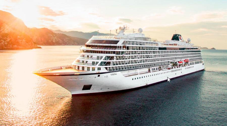 Viking Sun, Viking Cruises fjerde cruiseskip som nylig ble registrert i NIS.  Foto: Viking Cruises