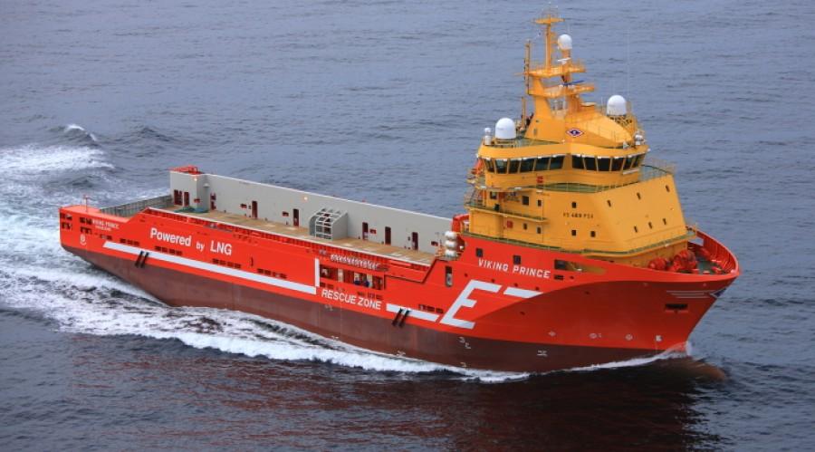 Viking Prince er et av skipene som får hybridpakke. Foto: Eidesvik.