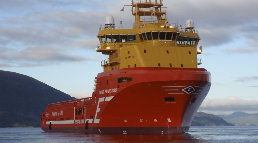 Eidesvik Shippings offshore-fartøy Viking Princess. Foto: Eidesvik Shipping