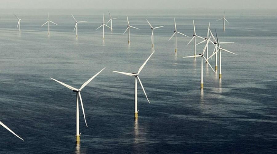 Subsea 7 har fått enda en betydelig kontakt på vindfarmfeltet Hornsea i den britiske delen av Nordsjøen. Foto: Ørsted.