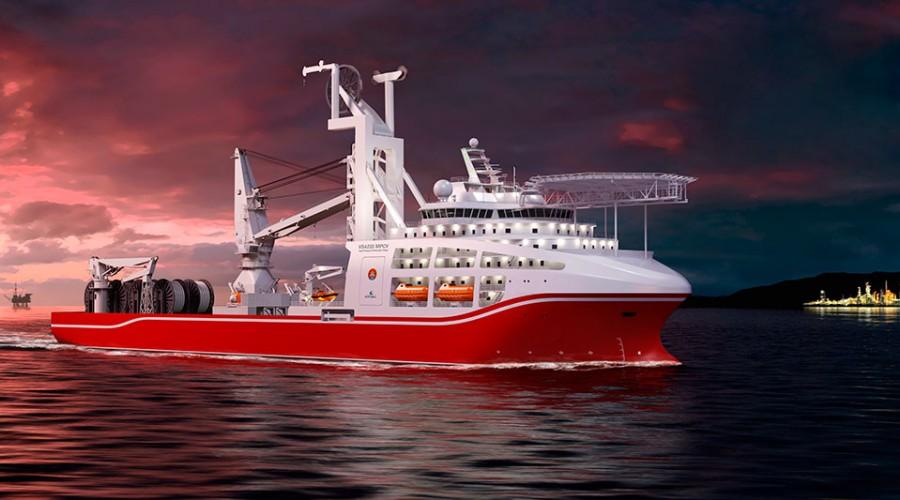 Det nye dypvanns dykkerfartøyet til Shanghai Salvage Bureau (SSB) er designet av Wärtsilä.