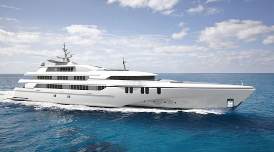 Yachten som Stadt skal levere til skal byggast i Australia.