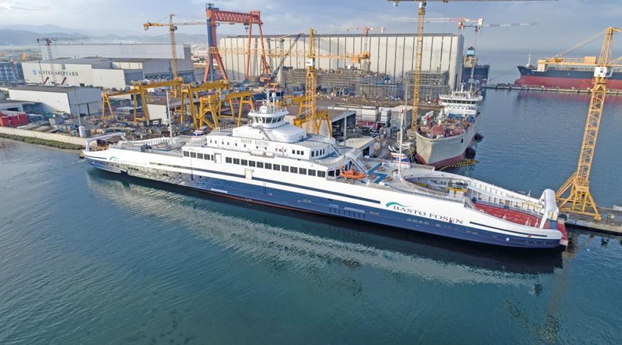 Foto: Bastø Fosen/Cefine Shipyard/TNSDC