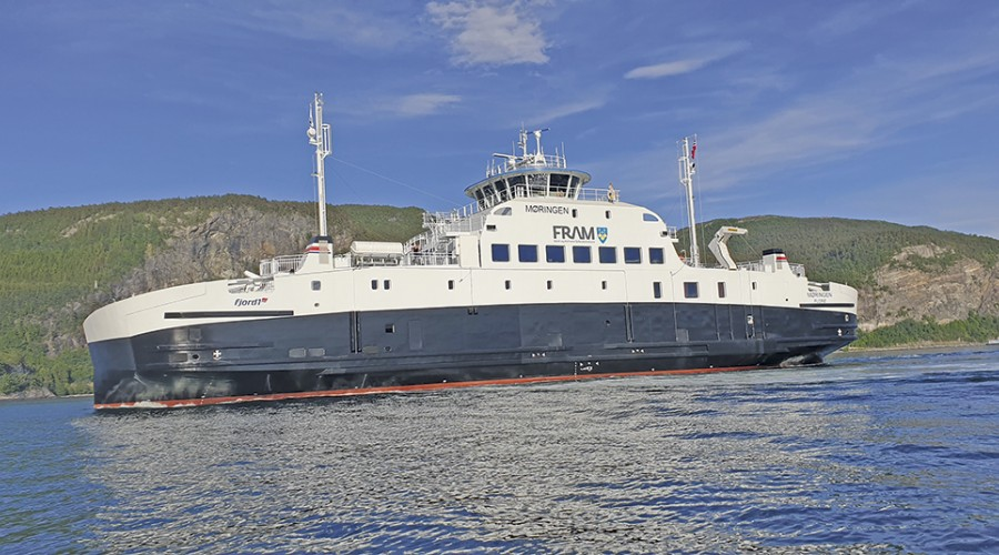Bilde av søsterskipet Møringen. Foto: New Havyard Ship Technology